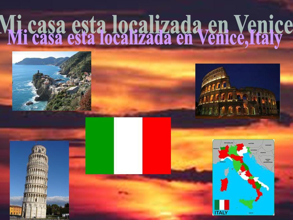 Mi casa esta localizada en Venice,Italy