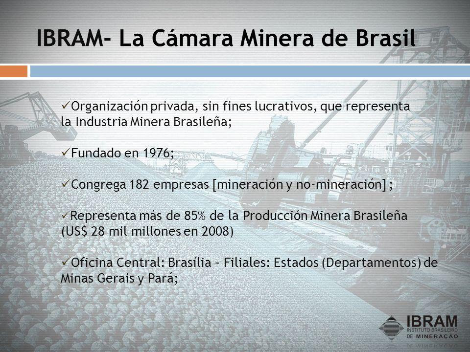 IBRAM- La Cámara Minera de Brasil