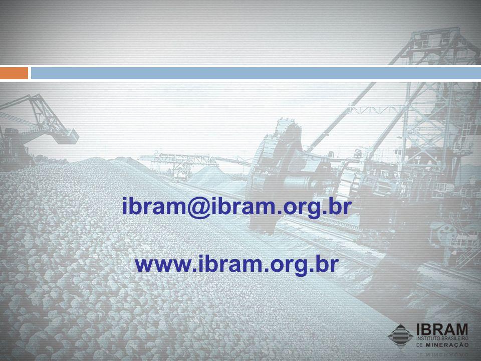 ibram@ibram.org.br www.ibram.org.br