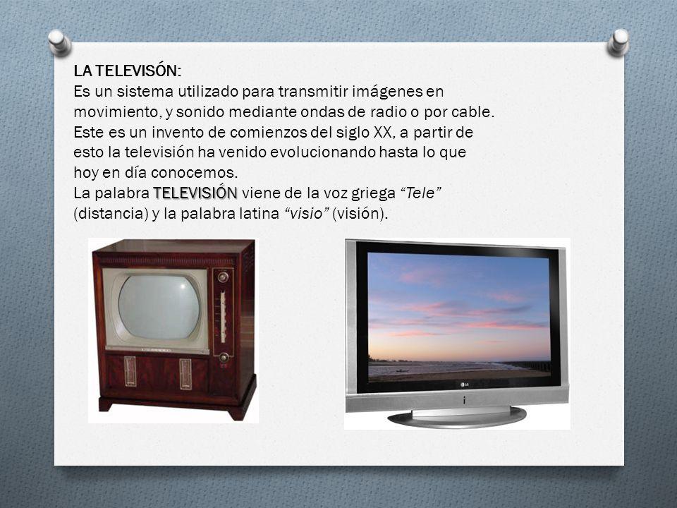 LA TELEVISÓN: