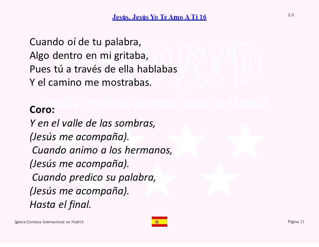 Jesús, Jesús Yo Te Amo A Ti 16