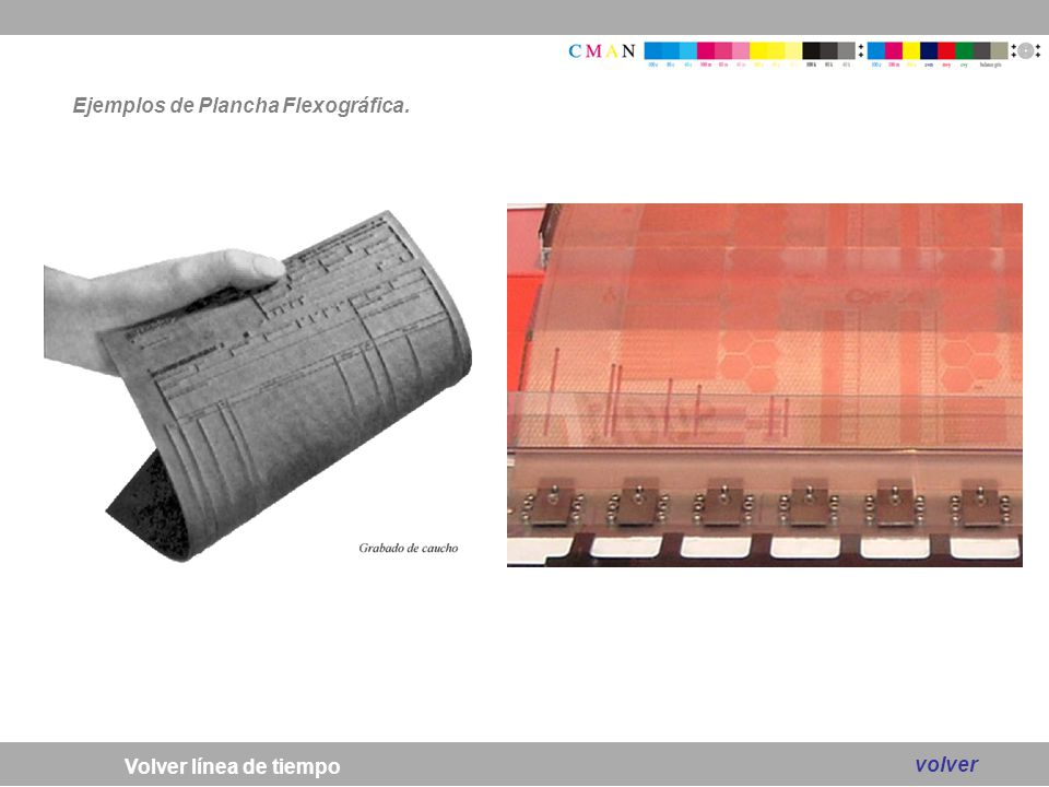 Ejemplos de Plancha Flexográfica.