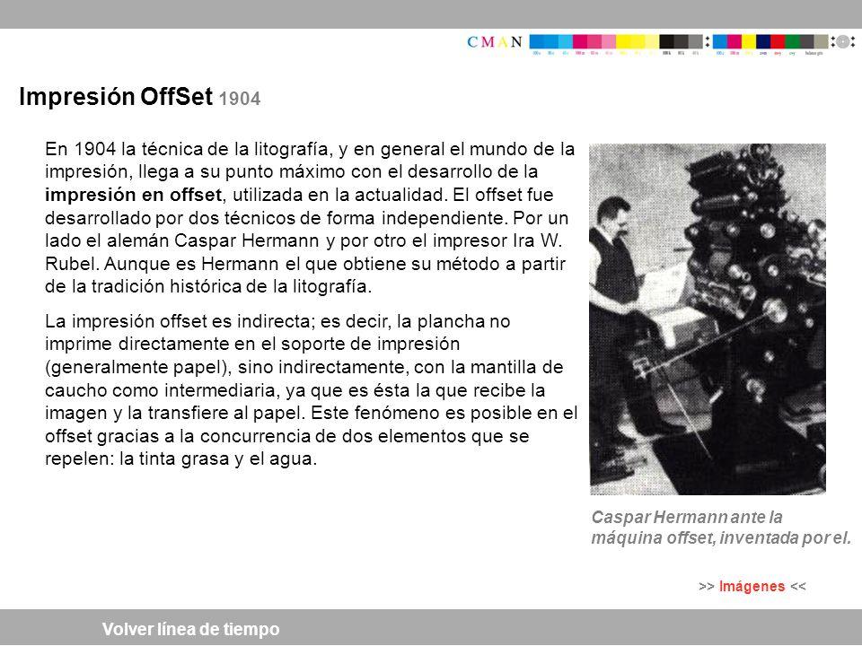 Impresión OffSet 1904