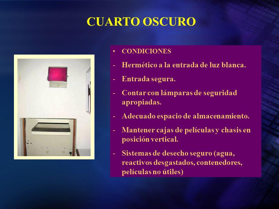 Peliculas radiograficas ppt video online descargar for Cuarto oscuro rayos x