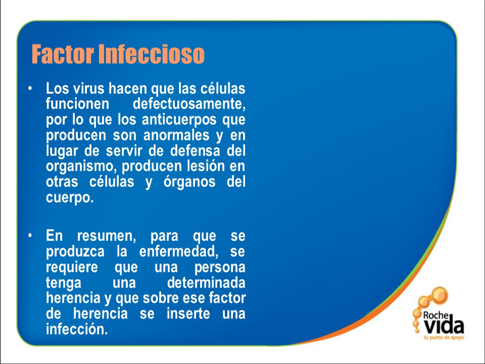 Factor Infeccioso