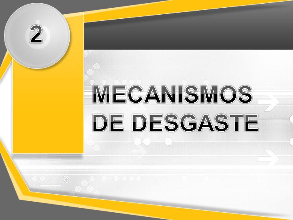 2 MECANISMOS DE DESGASTE