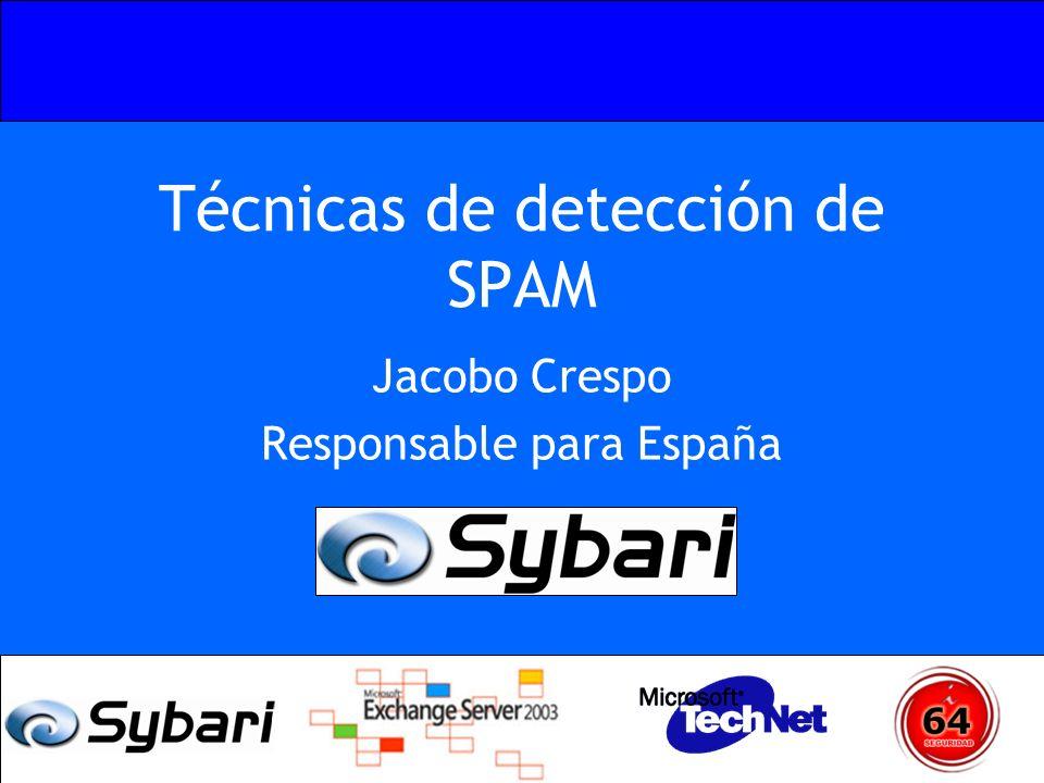 Técnicas de detección de SPAM