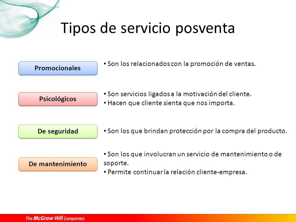 9 el servicio posventa ppt video online descargar for Tipos de servicios de un hotel