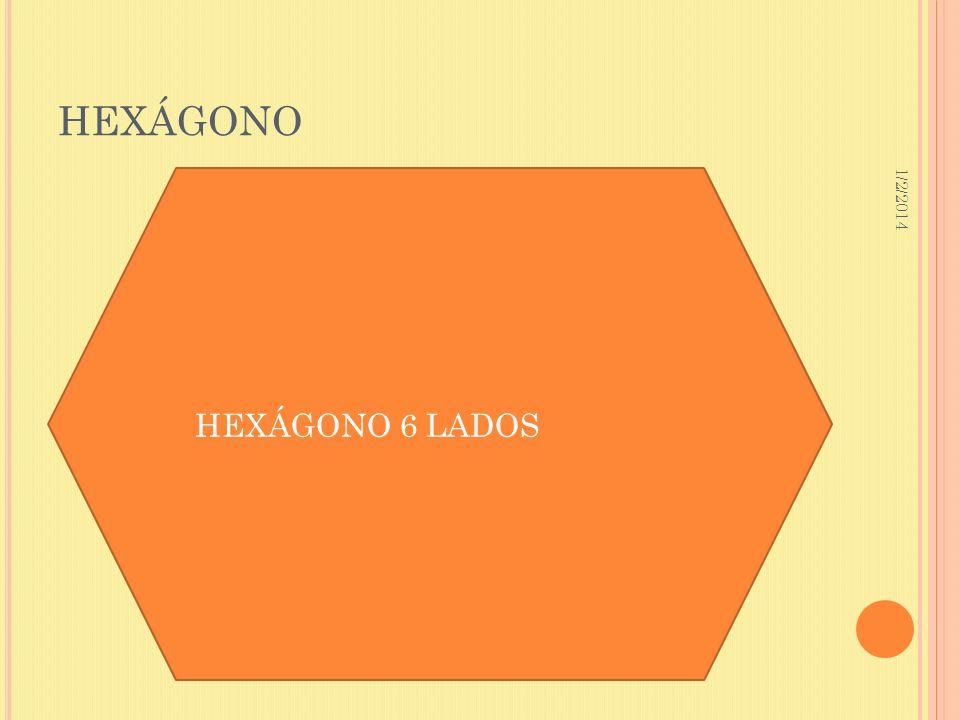 HEXÁGONO 3/23/2017 HEXÁGONO 6 LADOS