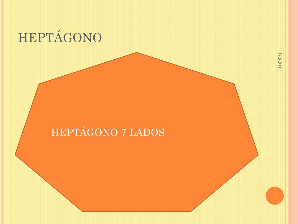 HEPTÁGONO 3/23/2017 HEPTÁGONO 7 LADOS