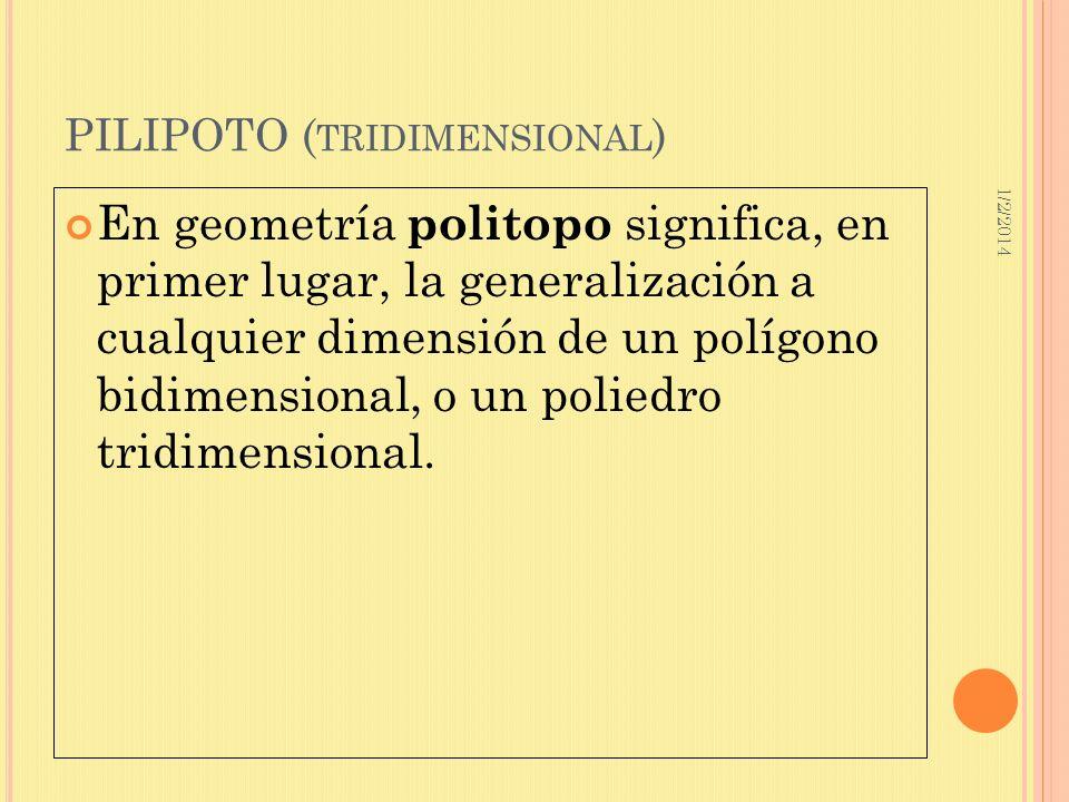 PILIPOTO (tridimensional)