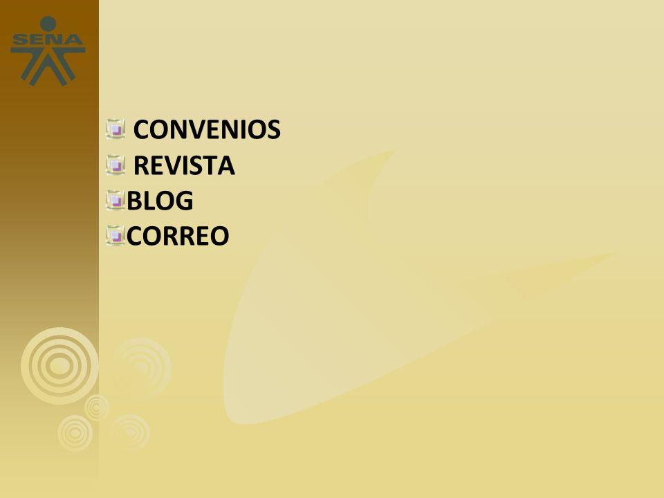 CONVENIOS REVISTA BLOG CORREO 13