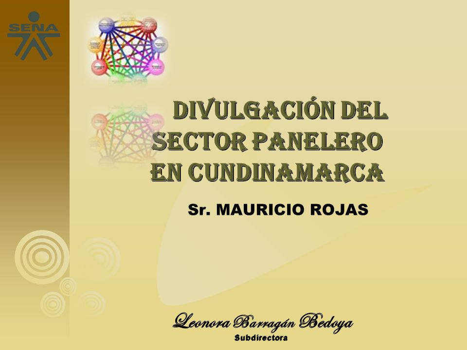 Sr. MAURICIO ROJAS Leonora Barragán Bedoya