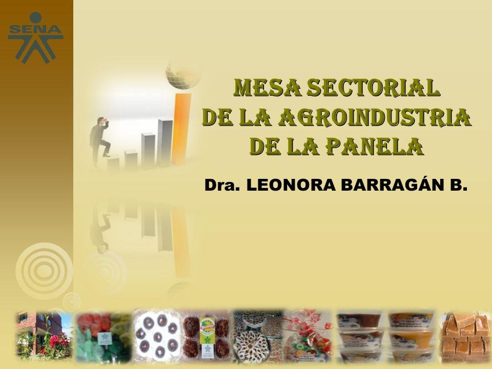Mesa sectorial de la agroindustria de la panela
