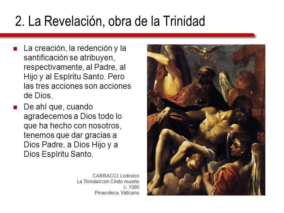 2. La Revelación, obra de la Trinidad