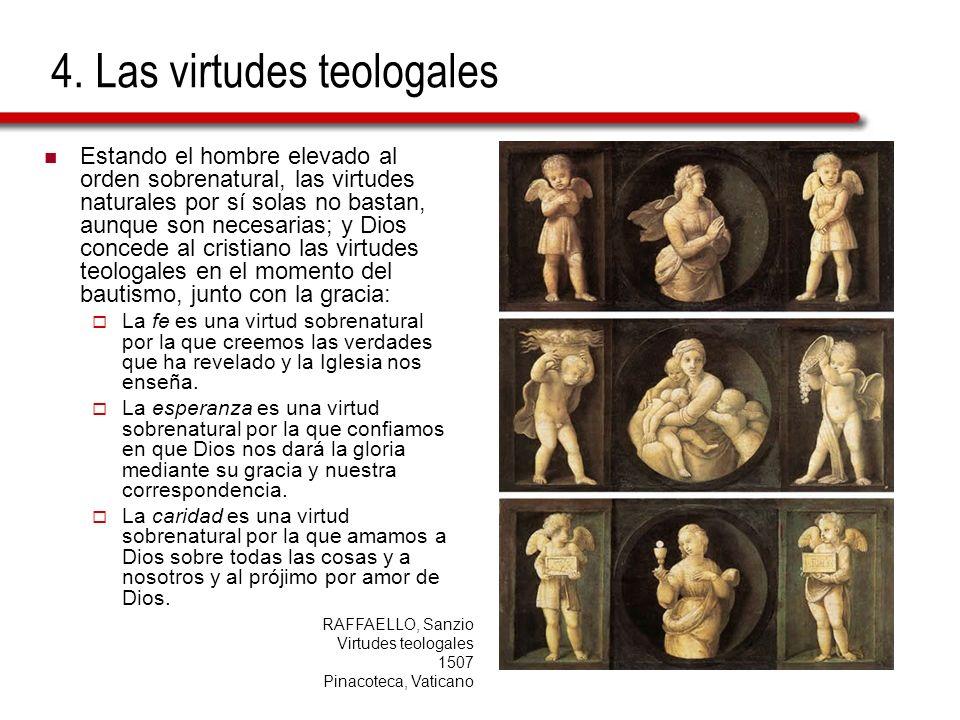 4. Las virtudes teologales