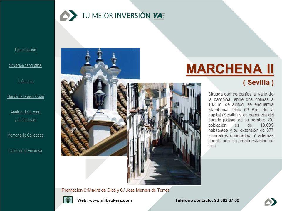 MARCHENA II ( Sevilla ) Presentación Situación geográfica Imágenes