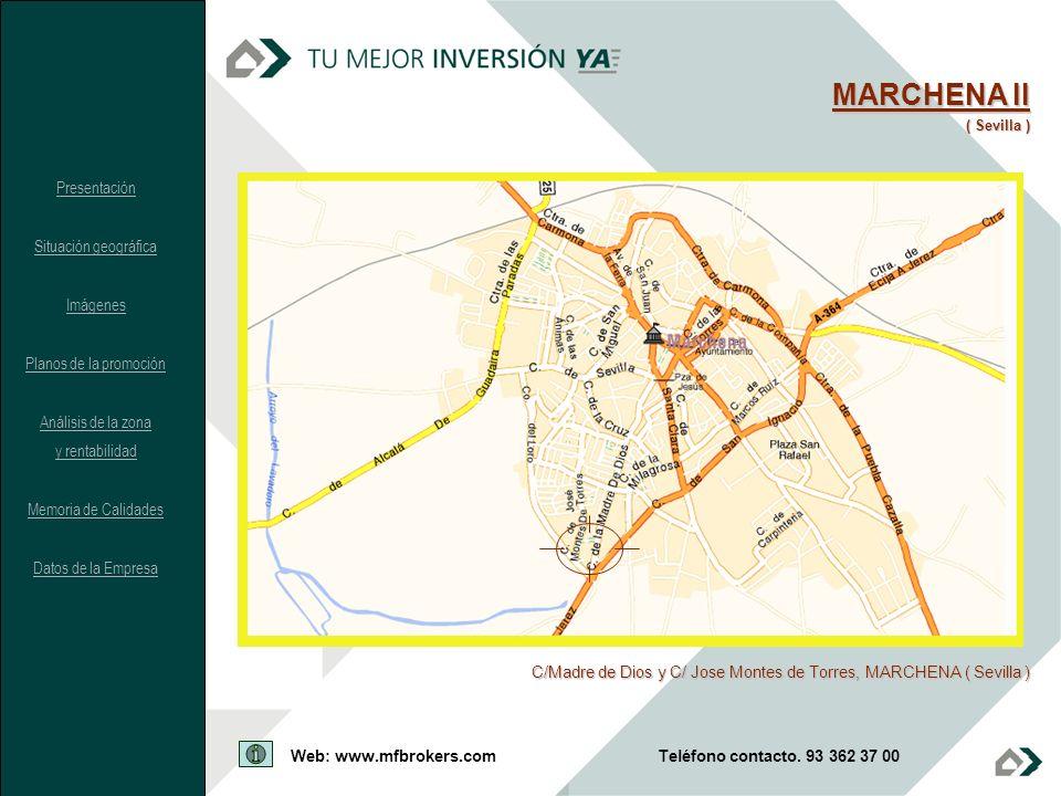 MARCHENA II Presentación Situación geográfica Imágenes