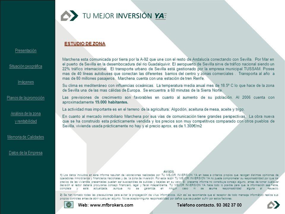 ESTUDIO DE ZONA Presentación Situación geográfica Imágenes
