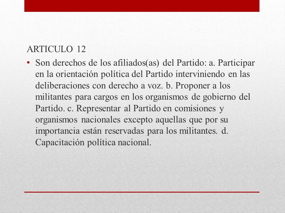 ARTICULO 12