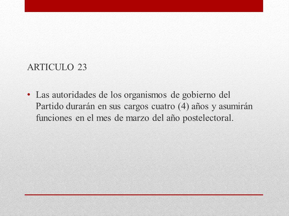 ARTICULO 23
