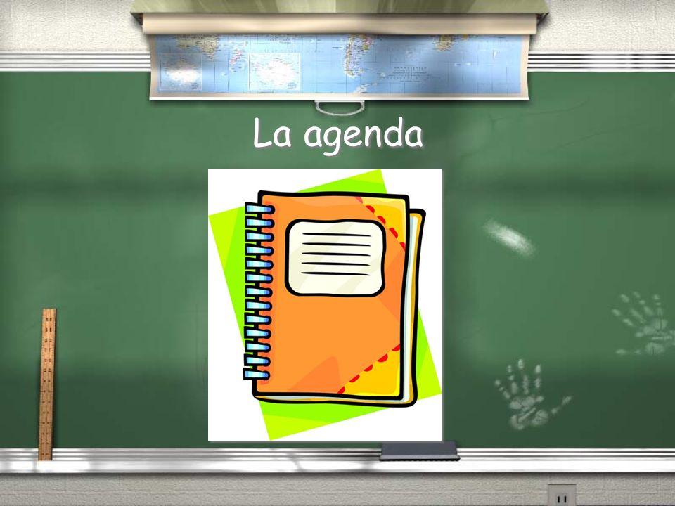 La agenda