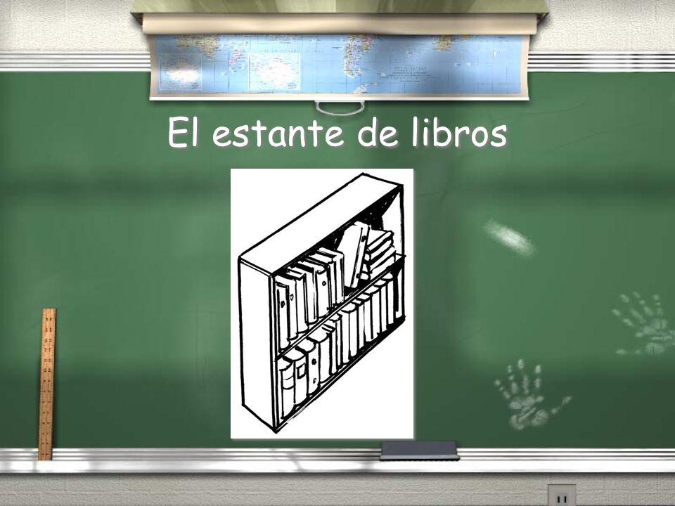 El estante de libros