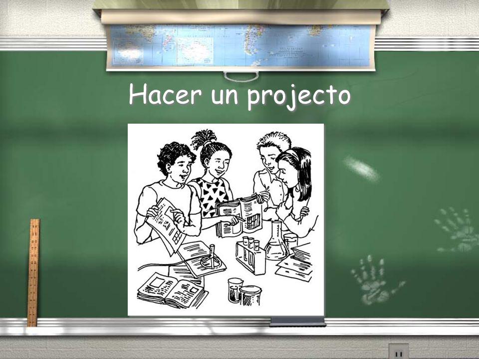 Hacer un projecto