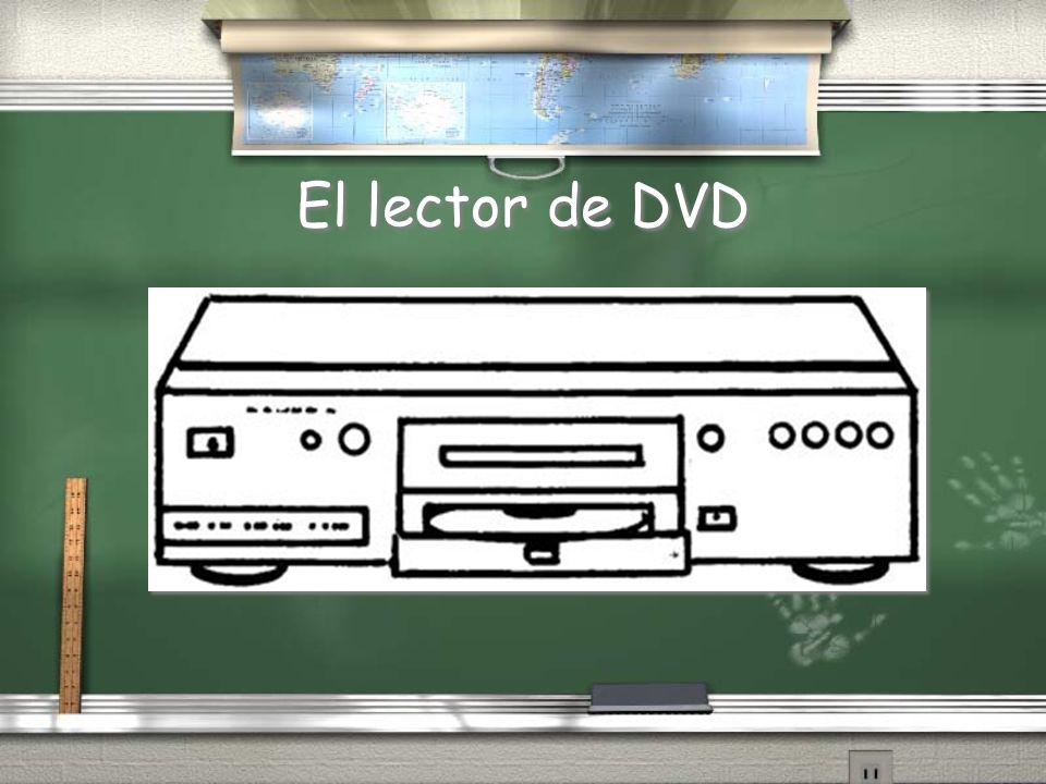El lector de DVD