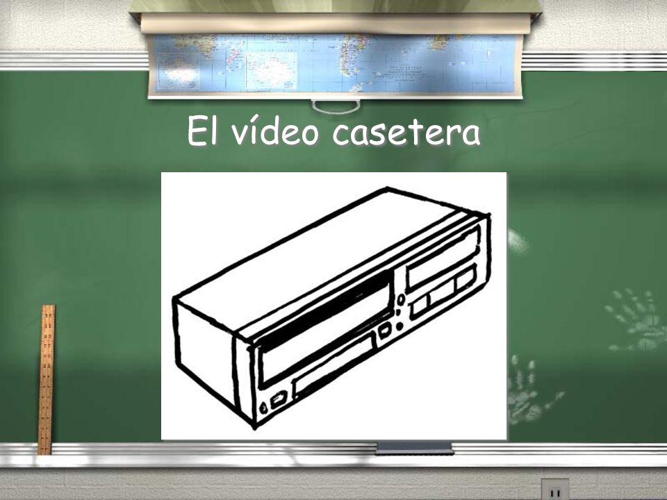 El vídeo casetera