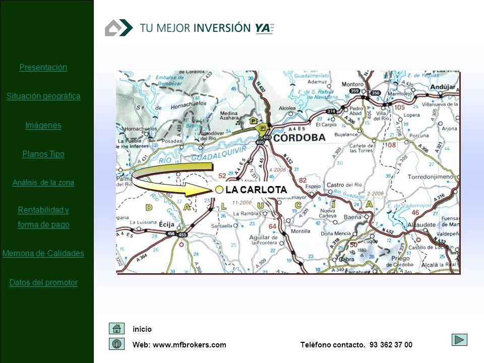 LA CARLOTA Presentación Situación geográfica Imágenes Planos Tipo