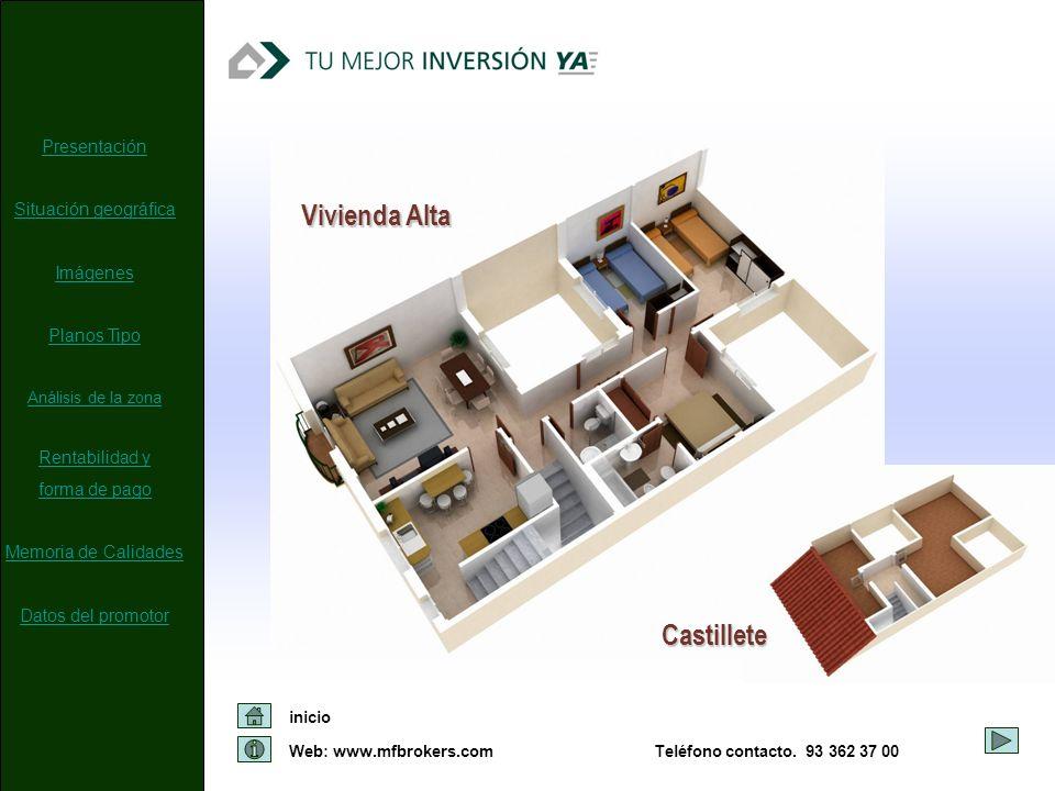 Vivienda Alta Castillete Presentación Situación geográfica Imágenes