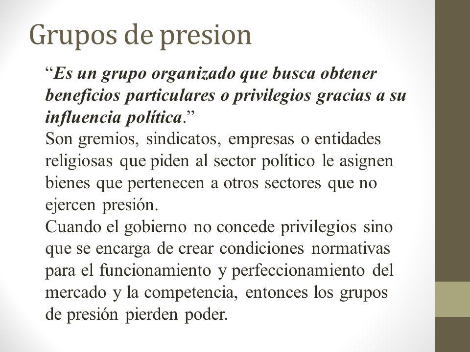 Grupo felipe fucito una pluralidad de individuos que - Grupo de presion ...