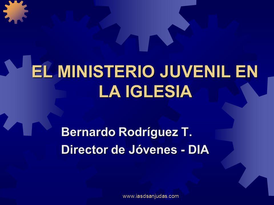 EL MINISTERIO JUVENIL EN LA IGLESIA
