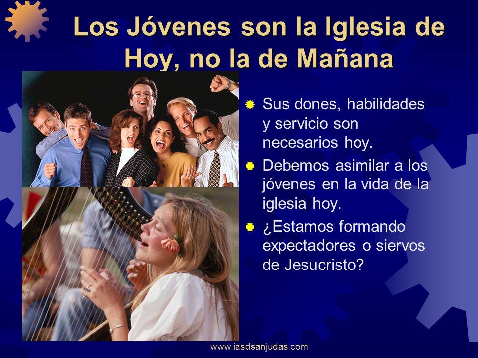 Los Jóvenes son la Iglesia de Hoy, no la de Mañana