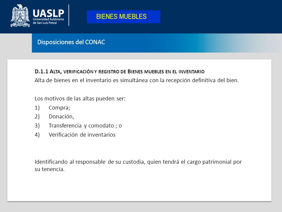 Departamento de contabilidad ppt descargar for Registro bienes muebles las palmas