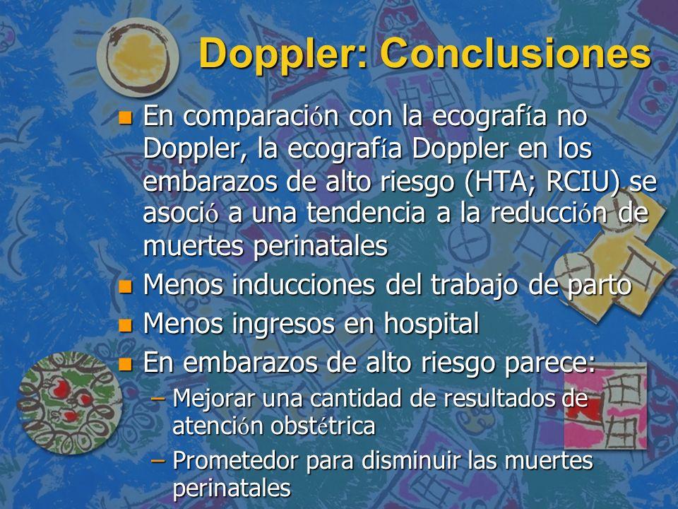 Doppler: Conclusiones