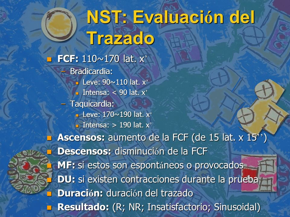 NST: Evaluación del Trazado