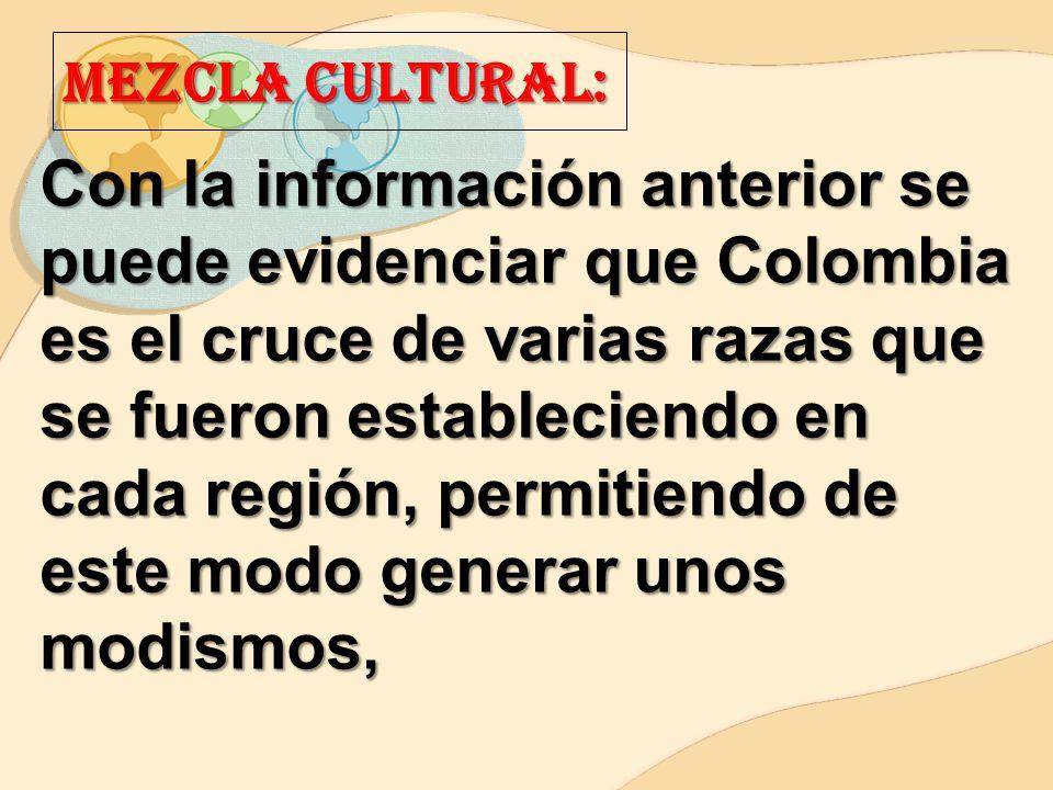 Mezcla CULTURAL: