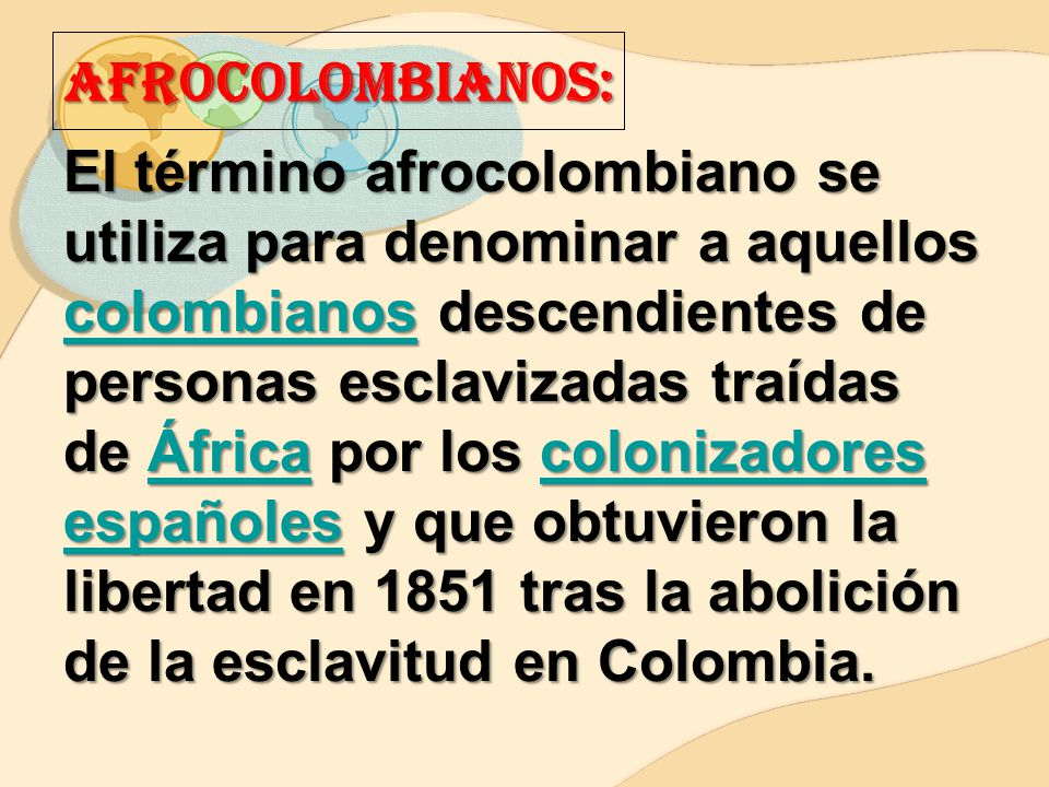 AFROCOLOMBIANOS: