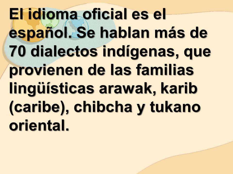 El idioma oficial es el español