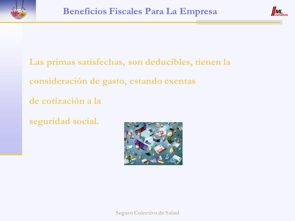 Beneficios Fiscales Para La Empresa