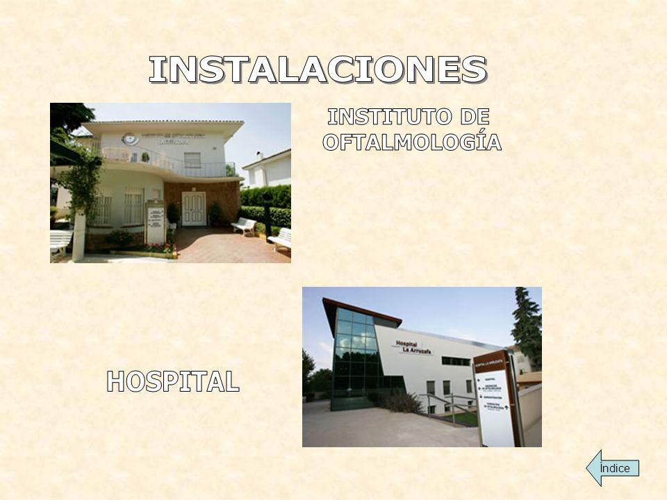 INSTALACIONES INSTITUTO DE OFTALMOLOGÍA HOSPITAL