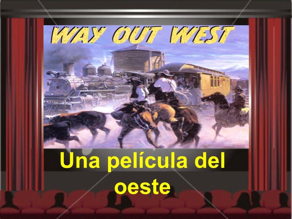 Una película del oeste