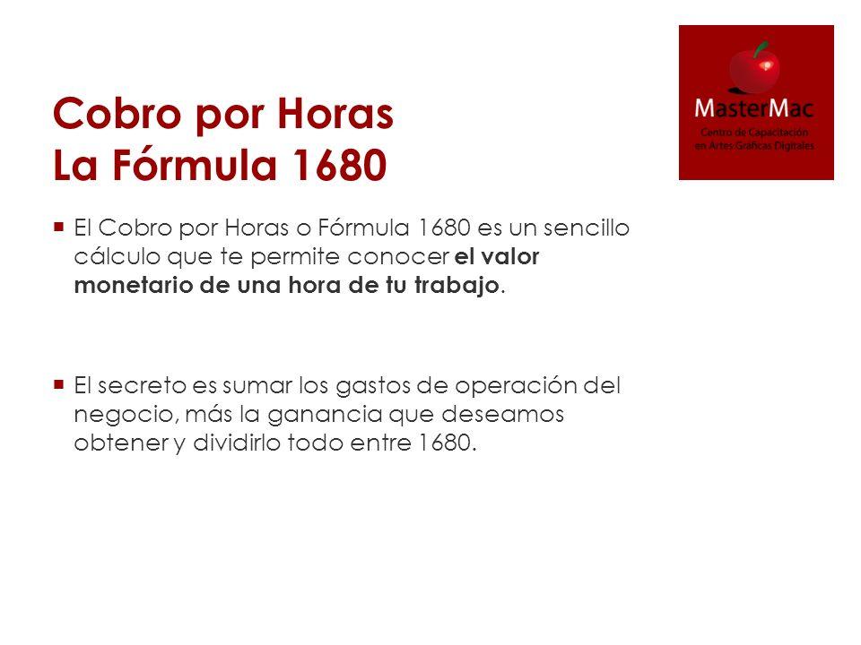Cobro por Horas La Fórmula 1680