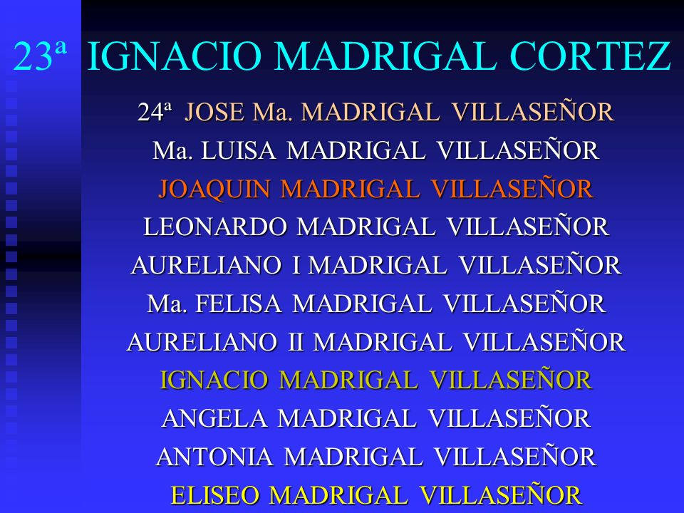 23ª IGNACIO MADRIGAL CORTEZ