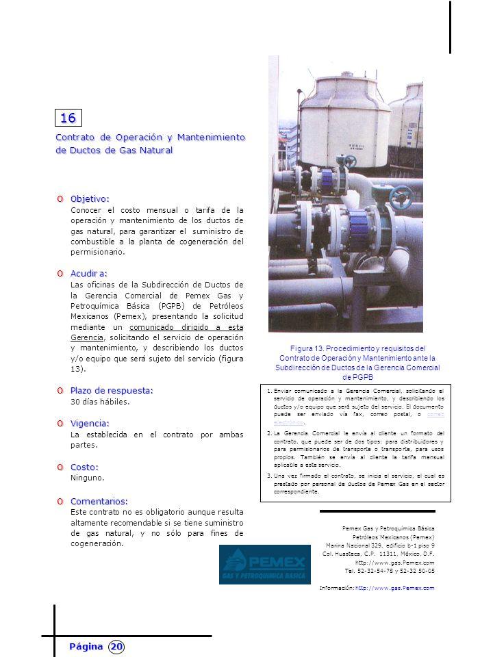 Para implementar una planta de cogeneraci n en m xico for Oficinas de gas natural