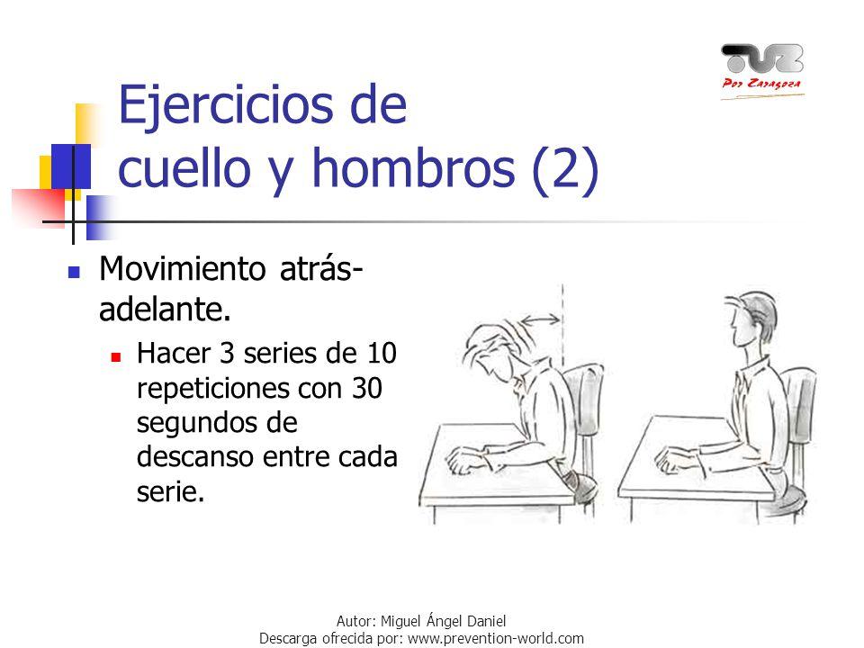 Ejercicios de cuello y hombros (2)
