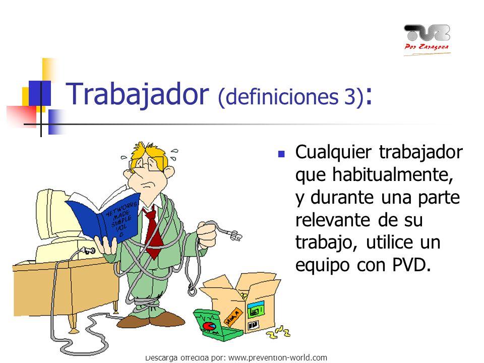 Trabajador (definiciones 3):
