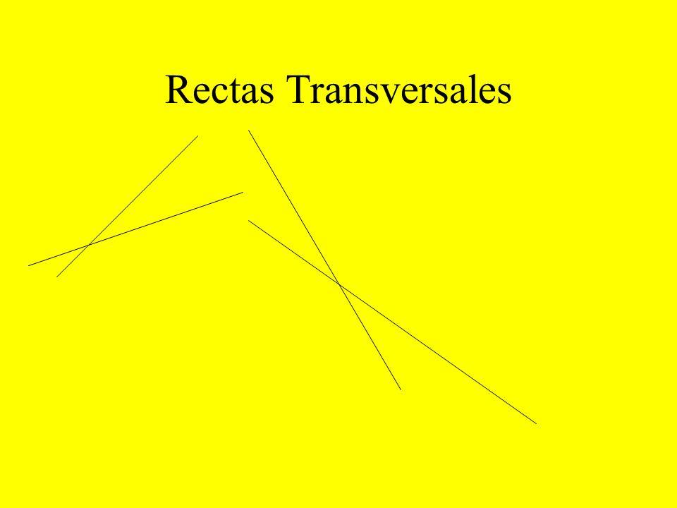 Rectas Transversales